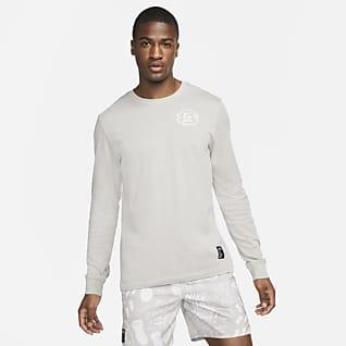 Nike Dri-FIT Nathan Bell Langarm-Lauf-T-Shirt für Herren