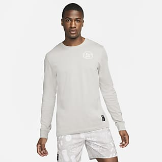 Nike Dri-FIT Nathan Bell Uzun Kollu Erkek Koşu Tişörtü
