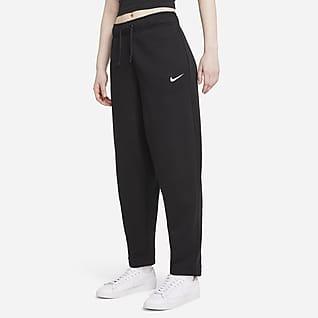 Nike Sportswear Collection Essentials Pantaloni Curve in fleece - Donna