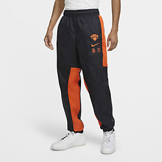 New York Knicks Courtside Men's Nike NBA Tracksuit Pants