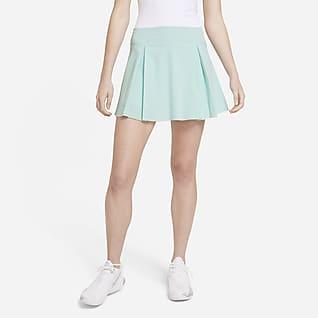 Nike Club Skirt Saia de golfe normal para mulher