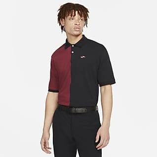 Nike Dri-FIT Tiger Woods Golfpolo met ruimvallende pasvorm voor heren