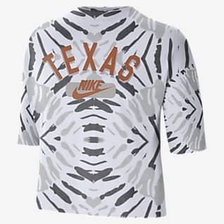 Nike College (Texas) Women's Boxy Printed T-Shirt
