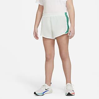 Nike Dri-FIT Tempo Shorts de running para niña talla grande (talla extendida)