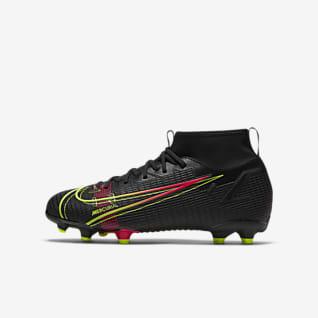 Nike Jr. Mercurial Superfly 8 Academy MG Chuteiras de futebol multiterreno para criança/Júnior