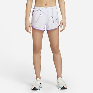 Nike Dri-FIT Tempo Big Kids' (Girls') Swoosh Training Shorts