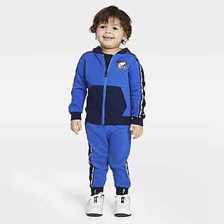 Jordan Jumpman Conjunto de sudadera con capucha y pantalones para bebé (de 12 a 24 meses)