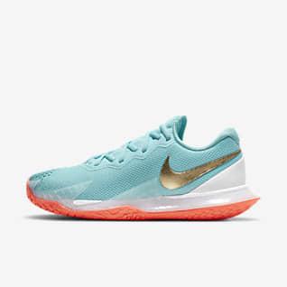 NikeCourt Air Zoom Vapor Cage 4 Sert Kort Kadın Tenis Ayakkabısı