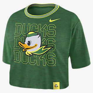 Nike College (Oregon) Women's Crop T-Shirt
