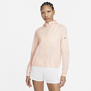 Nike Impossibly Light 女子连帽跑步夹克