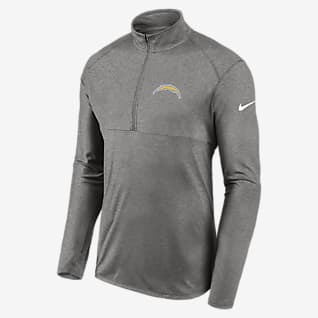 Nike Dri-FIT Logo Element (NFL Los Angeles Chargers) Men's 1/2-Zip Pullover