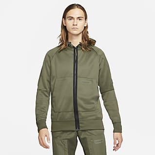 Nike Sportswear Air Max Ανδρική μπλούζα με κουκούλα και φερμουάρ σε όλο το μήκος