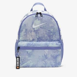 Nike Brasilia JDI Mini mochila tie-dye para niños