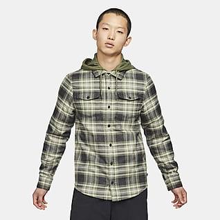 Nike SB 男子法兰绒滑板上衣