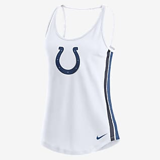 Nike Dri-FIT (NFL Indianapolis Colts) Women's Open Back Tank Top