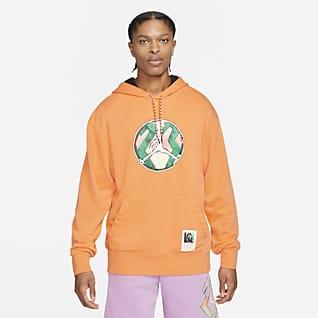 Jordan Sport DNA Hoodie pullover com efeito lavado para homem