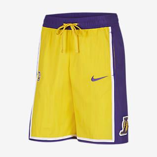 Los Angeles Lakers Courtside Heritage Nike NBA Erkek Şortu