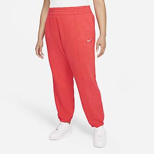 Nike Sportswear Essential Collection Women's Washed Fleece Pants (Plus Size)