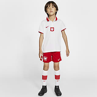 Polonia 2020 de local Kit de fútbol para niños talla pequeña