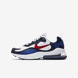 Nike Air Max 270 React Cipő nagyobb gyerekeknek
