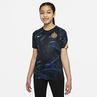 Inter de Milán Camiseta de fútbol para antes del partido Nike Dri-FIT - Niño/a