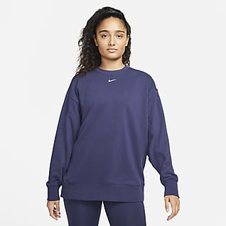 Nike Dri-FIT Grafikli Kadın Antrenman Crew Üstü