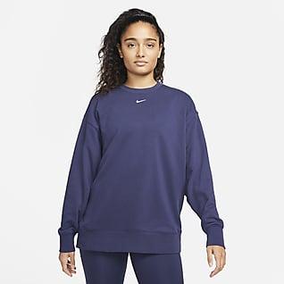 Nike Dri-FIT Trainings-Rundhalsshirt mit Grafik für Damen