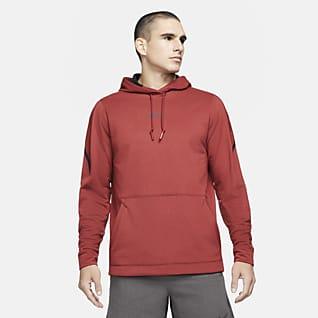 Nike Pro Ανδρική μπλούζα με κουκούλα