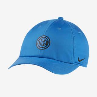 Nike Dri-FIT Inter Milan Heritage86 Justerbar caps til barn