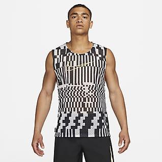 Nike Academy Pánské rozlišovací fotbalové tričko bez rukávů
