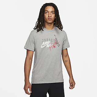 Jordan Brand Pánské tričko sgrafickým motivem akrátkým rukávem