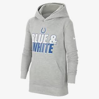 Nike Club Fleece (NFL Indianapolis Colts) Big Kids' (Boys') Hoodie
