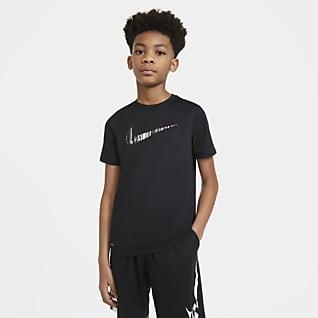 Nike Dri-FIT Playera para niño talla grande