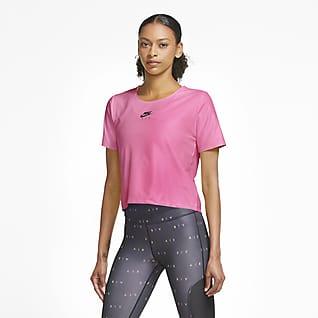 Nike Air เสื้อวิ่งแขนสั้นผู้หญิง