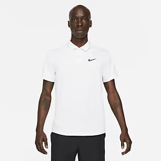 NikeCourt Dri-FIT ADV Slam Erkek Tenis Polo Üstü