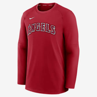 Nike Dri-FIT Pregame (MLB Los Angeles Angels) Men's Long-Sleeve Top