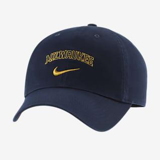 Nike Heritage86 Swoosh (MLB Milwaukee Brewers) Adjustable Hat