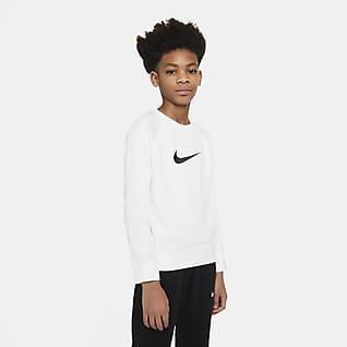 Nike Sportswear Swoosh Genç Çocuk (Erkek) Crew Üst