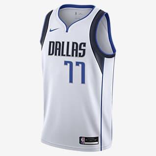 Luka Doncic Ντάλας Μάβερικς Association Edition 2020 Φανέλα Nike NBA Swingman