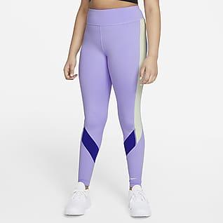 Nike Dri-FIT One Leggings para niña talla grande (talla extendida)