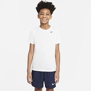 Nike Dri-FIT Trænings-T-shirt til større børn