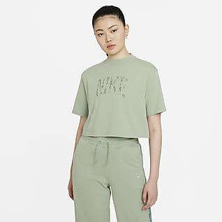 Nike Sportswear เสื้อเจอร์ซีย์แขนสั้นผู้หญิง