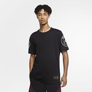 Paris Saint-Germain Logo T-shirt para homem