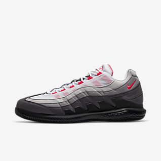 NikeCourt Zoom Vapor X Air Max 95 Chaussure de tennis pour Homme