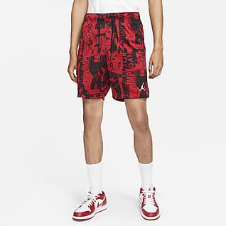 Jordan Essentials Mönstrade shorts i mesh för män