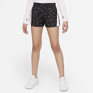 Nike Dri-FIT 10K2 Беговые шорты с принтом для девочек школьного возраста
