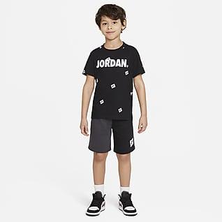 Jordan Jumpman Conjunto de playera y shorts para niños talla pequeña