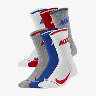 Nike Calcetines largos para niños pequeños (6 pares)