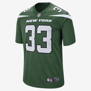 NFL New York Jets (Will Adams) Men's Game Football Jersey