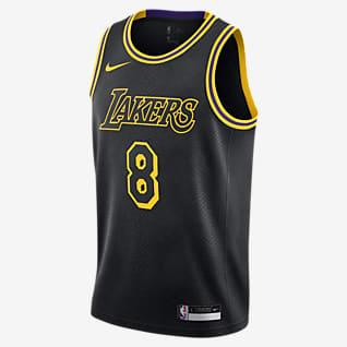 洛杉矶湖人队 City Edition Nike NBA Swingman Jersey 大童(男孩)球衣
